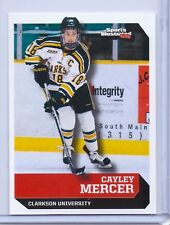 "CAYLEY MERCER 2017 SPORTS ILLUSTRATED ""1ST EVER PRINTED"" ROOKIE CARD #618!"