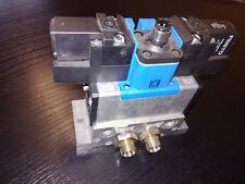 FESTO Magnetventil JMEBH-5/2-D-1-ZSR-C Teil-Nr.:184495 + MSEB-3-24 Nr.373855 NEU
