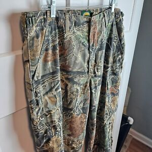 CABELAS Camouflage Hunting Cargo Pants SECLUSION 3D  36 R