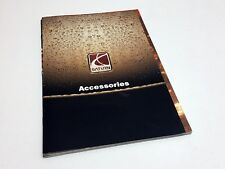 2002 Saturn L S Series 3 Door Coupes Accessories Brochure