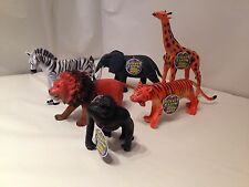 New 6 x jungle animals figures Planet Earth-Large size