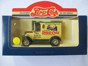 Lledo Model T Ford Van Pepsi Cola DG6122 Boxed Unused