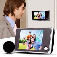 """3.5"""" Digital 120° Peephole Viewer Door Eye Home Security Color IR Camera Viewer"""