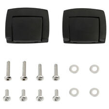 Black Chopped Tour Pack Latches Fit For Harley Touring Road Glide King 1980-2013