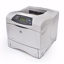 HP Laserjet 4300N Network Monochrome Laser Printer -REFURBISHED- 60 Day Warranty