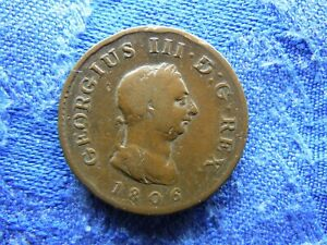 UK FARTHING 1806, KM661