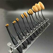 Cosmetic Makeup Brush Display Holder For 10Pcs Toothbrush Foundation Brush Shelf