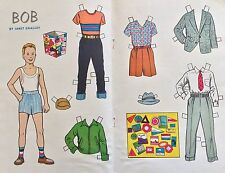 1955, Bob, A Hobby Doll From the Hobby Doll Series Paper Doll,Jack & Jill Mag