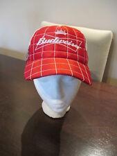 DALE EARNHARDT JR #8 Budweiser Racing Nascar Snapback Hat Cap Red Mesh Trucker