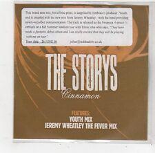 (FQ426) The Storys, Cinnamon - 2006 DJ CD