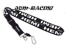JDM HEMI Racing Lanyard Keychain Quick Release Chrysler Dodge Hemi Charger