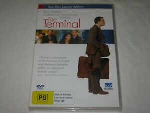 The Terminal - 2 Disc Special Edition - Brand New & Sealed - Region 4 - DVD