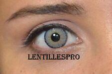 lentilles de couleur gris 1 ans  pearl gray -contact lenses