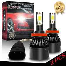 Protekz 6K LED HID Headlight kit H11 White for Hyundai 2010-2012 Genesis Coupe