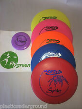 "NEW INNOVA "" YOU PICK UM"" 5 PACK. FRISBEE DISC GOLF BEGINNER/STARTER DISK SET +"