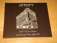 Spirit Import CD KSIW FM LIVE BROADCAST SEATTLE 1971 Randy California US Seller