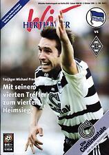 BL 98/99 Hertha BSC - Borussia Mönchengladbach, 02.10.1998 - Poster Gabor Kiràly