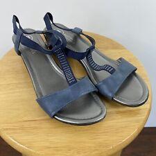 Mootsies Tootsies Blue Sandals Size 9