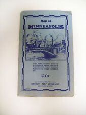MAP OF MINNEAPOLIS 1960'S