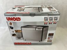UNOLD Bread Maker BACKMEISTER 11 Programmes Gluten Free Fresh Homemade Durable