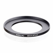 RISE(UK) 49mm-67mm 49-67 mm 49 to 67 Step Up Ring Filter Adapter black