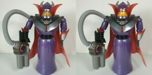 """DISNEY STORE TOY STORY EMPEROR ZURG LARGE 14"""" LIGHT UP ACTION FIGURE FREE P&P"""