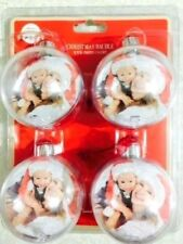 CHRISTMAS BAUBLE PERSONALISED BALL PHOTO INSERT CREATE YOUR TREE DECORATION XMAS