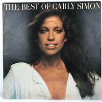 Vintage Vinyl LP The Best Of Carly Simon 6E-109-A SP Elektra 1975