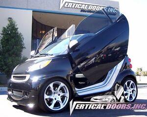 2008 2009 2010-2014 Smart Car for two Vertical doors inc. BOLT ON lambo door kit