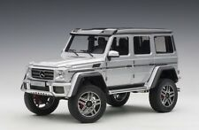 Mercedes-Benz G500 2 4X4 Silver 1:18 Autoart 76318 Brand New Release In Box Sale