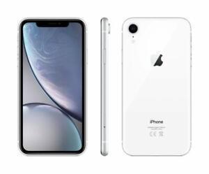 "Apple iPhone XR 64GB Weiß White Ohne Simlock A2105 6,1"" WIE NEU & OVP"