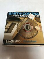 Smith Corona Electronic Typewriter Single Pack Printwheel 946 Script New Old Sto