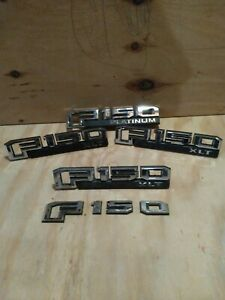 Lot of Ford F150 used oem emblems