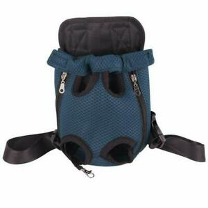PetDog Carrier Breathable Outdoor Travel Dog Backpack LegsOut Front Shoulder Bag