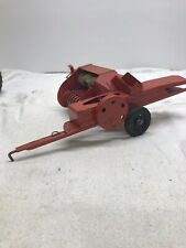 Old Vintage TRU SCALE TOY FARM IMPLEMENT HAY BALER Metal Toy Vintage Farm Toy