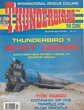 Thunderbirds #12 (24th March 1992) TV21 full colour reprint strips