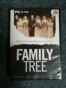 GSP Family Tree Genealogy Building Software PC CD-ROM.