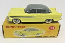 Dinky 174 HUDSON HORNET SEDAN two-tone yellow/grey - NEAR MINT BOX AND MODEL