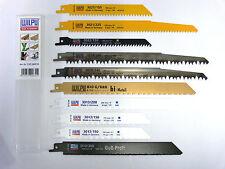10-teiliges Säbelsägeblatt - Set für Holz, Metall, Kunststoff, usw. , Säbelsäge