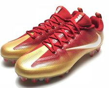 Nike Vapor Untouchable Pro TD Football Cleats Red Gold White 49ers Men's Size 11