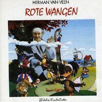 HERMAN VAN VEEN - ROTE WANGEN  CD  18 TRACKS KINDERLIEDER  NEU