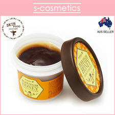 [SKINFOOD] Black Sugar Honey Wash Off Mask 100g Scrub Exfoliator Smoothing