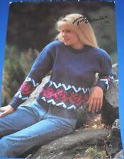 Chevy Womens Sweater Knitting Pattern 1141