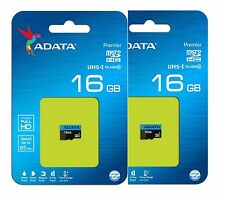 ADATA 16GB MicroSD Micro SDHC Memory Card Class 10 85MB/s Phantom 3 GoPro Pack 2
