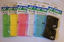 100% TWO Pairs of Yonex Elastic Wrist Band AC489EX, Made in Taiwan