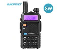 Baofeng UV-5R Walkie Talkie Radio Way Two UHF VHF Long Ham Dual Band Transceiver