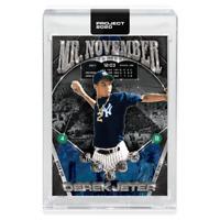 Derek Jeter #132  Topps Project 2020 CENTERED+- 1993 Ben Baller New York Yankees