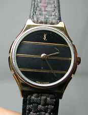 New NOS Antique Yves Saint Laurent Women's Wrist Watch w/ Original Box & Tags #2