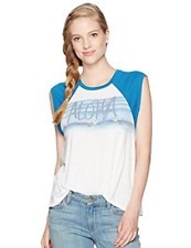NEW Rip Curl Women's Waves For Days Muscle T Shirt Tee Surf Aloha