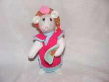 NEW HAND KNITTED PRINCESS JASMINE FROM ALADDIN ALAN DART'S PANTOMIME MOUSE/MICE